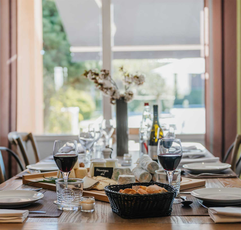 table d'hôte restaurant amarys